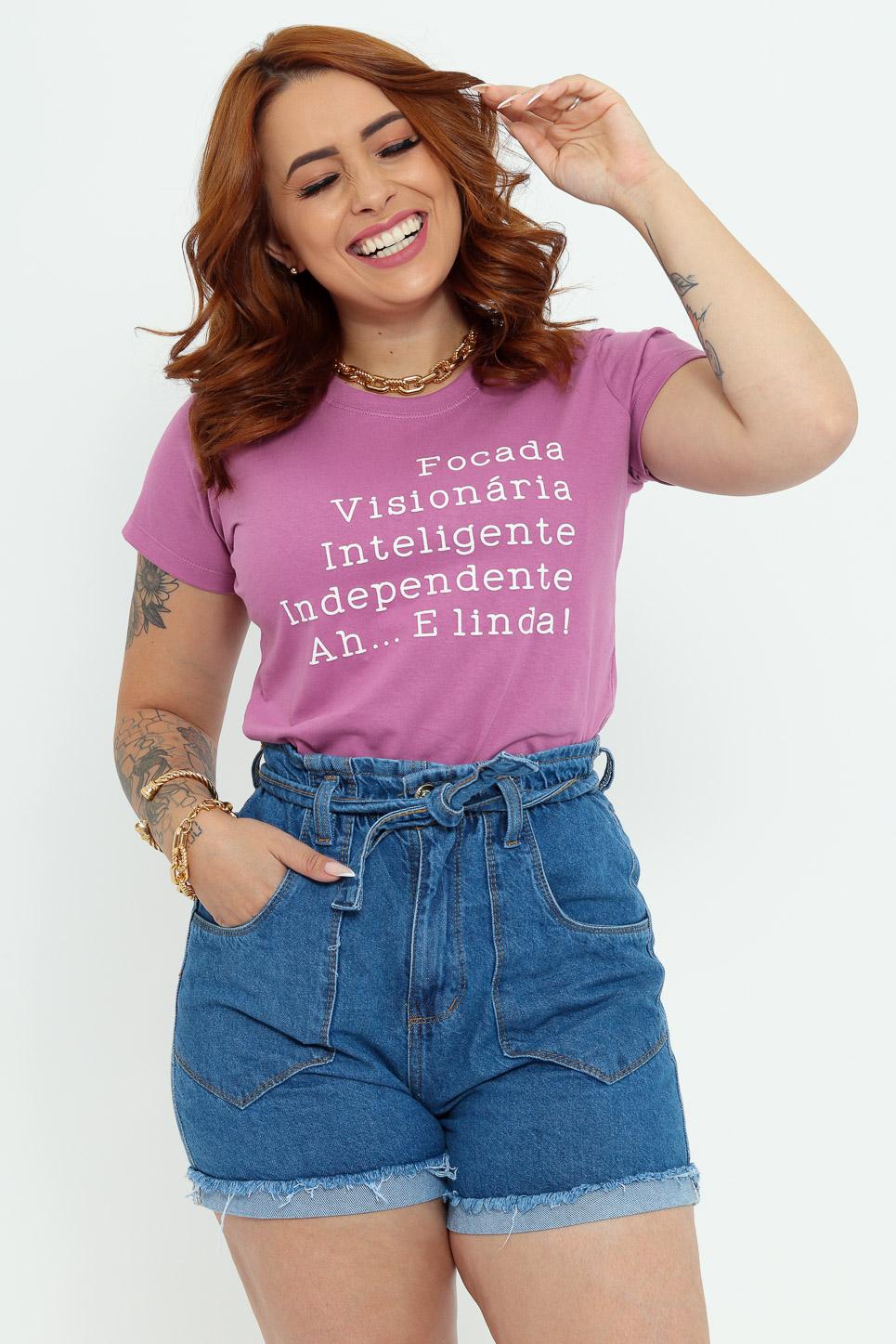 Focada, Visionaria, Inteligente, Ah...e Linda! - Lavanda (zoom)