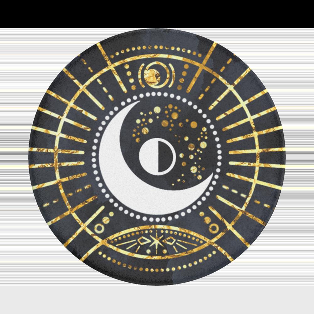 Popsockets Gen2 Gold Lunar Sigil Bk Suporte para Celular (zoom)