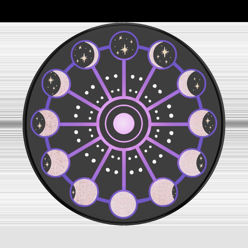 Popsockets Gen2 Lunar Cycle (Gloss) Bk Suporte Para Celular (zoom)