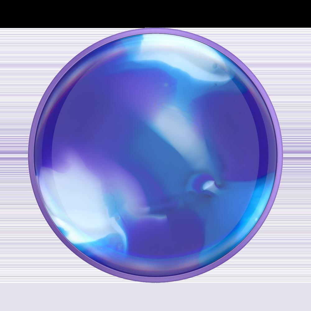 Popsockets Luxe Gen2 Swirl Blurple Suporte Para Celular Clip (zoom)