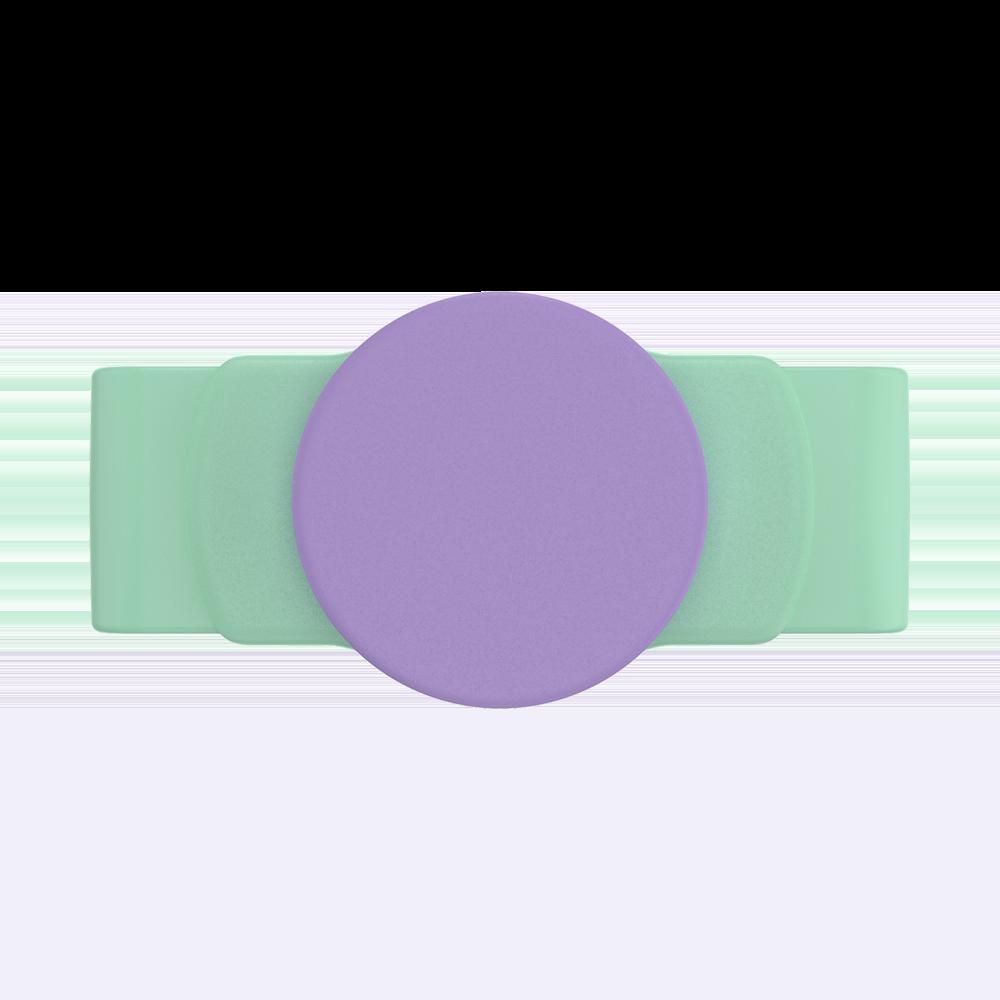 Ajustável Popsockets  Stretch Iris Mint Pu Um Suporte Celula (zoom)