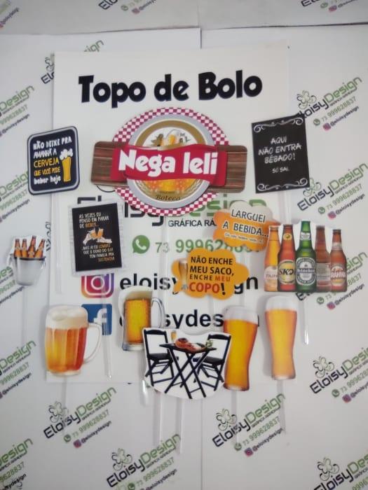 Topo De Bolo Ceveja