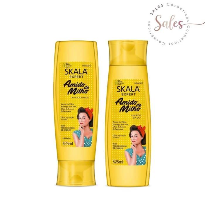 Kit Shampoo + Condicionador Skala Amido de Milho 325 ml